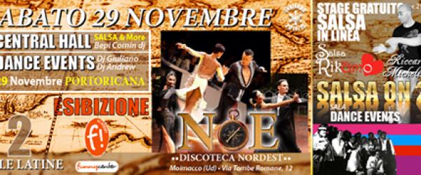 Stage di salsa portoricana a Udine-Moimacco discoteca Nord-est